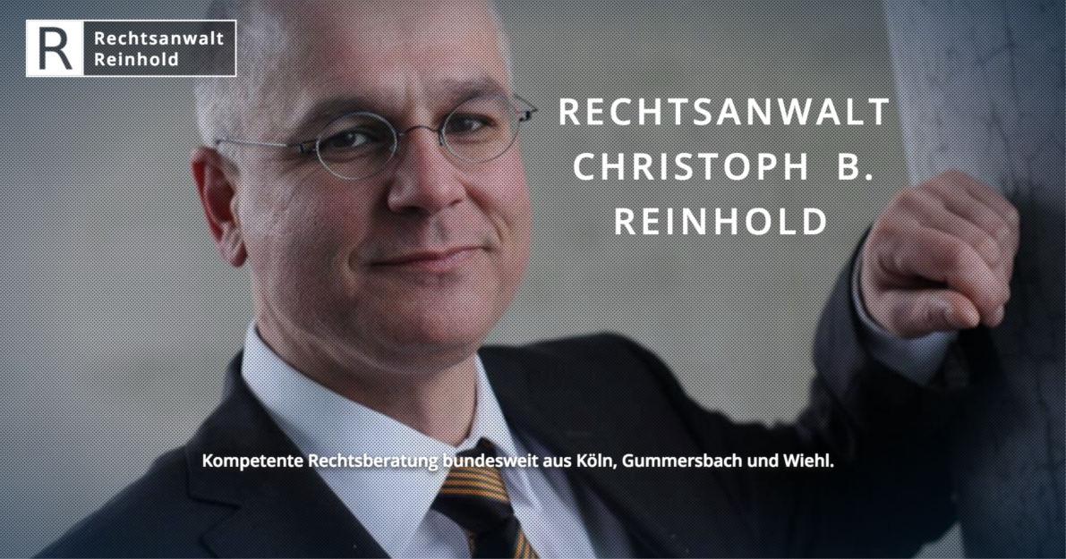 Rechtsanwalt Reinhold Anwalt Aus Gummersbach